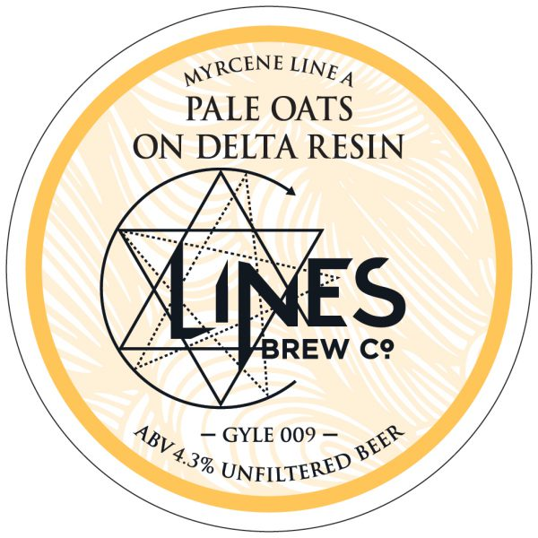 Pale oats delta resin
